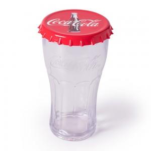 Imagem do produto - Copo de Plástico 530 ml Cristal Coca Cola com Tampa