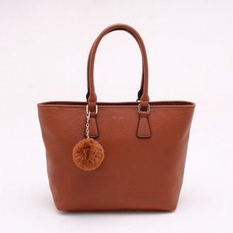 Imagem - Bolsa Dumond Shopper com Pompom cód: 485844