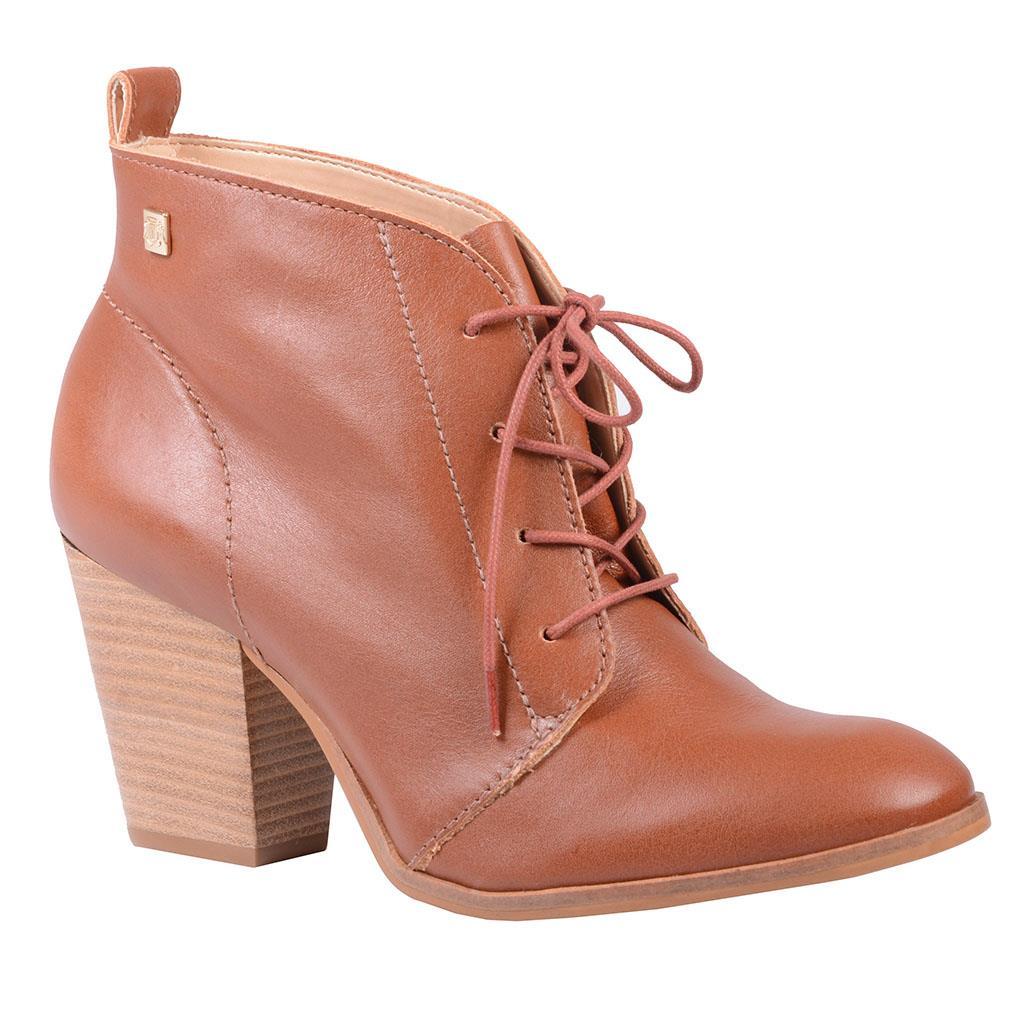 Ankle boot castanho