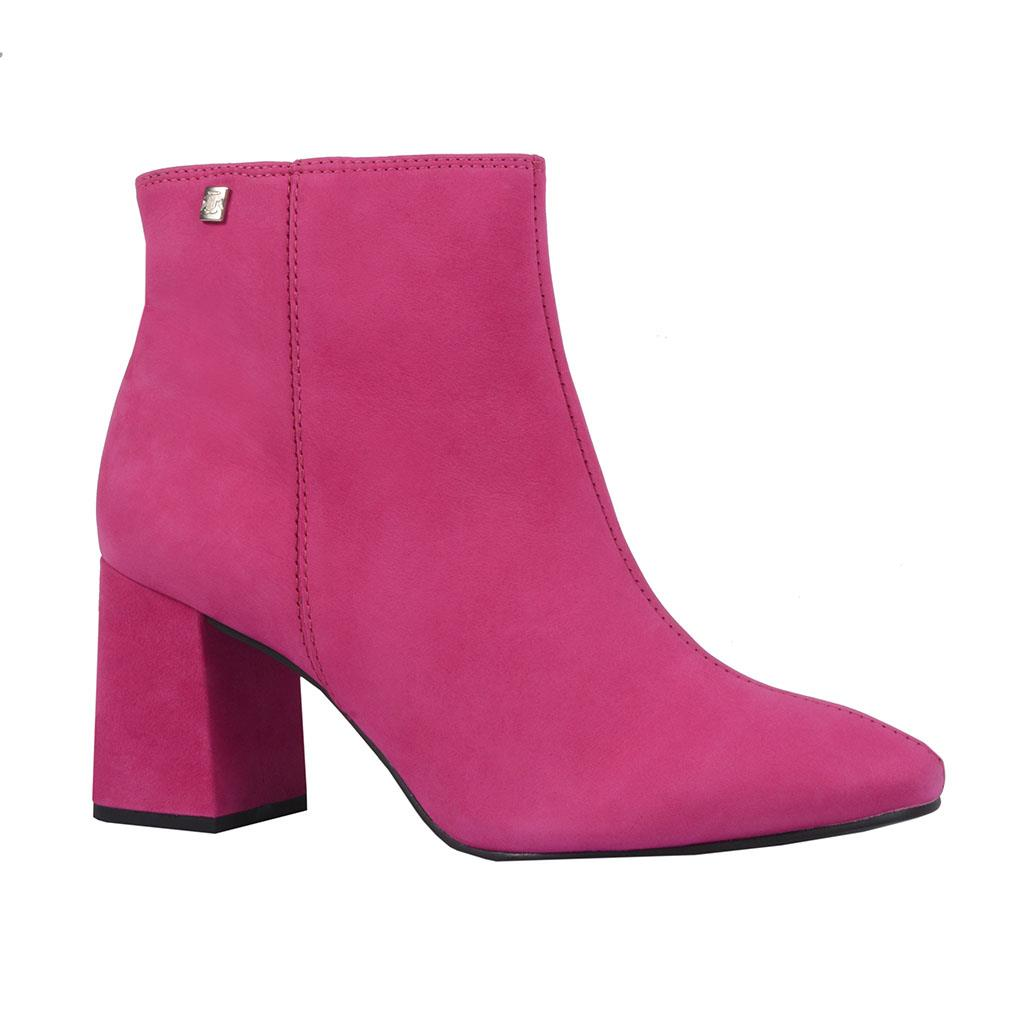 Ankle boot pink I18
