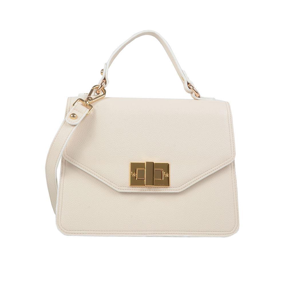 Bolsa estruturada off white