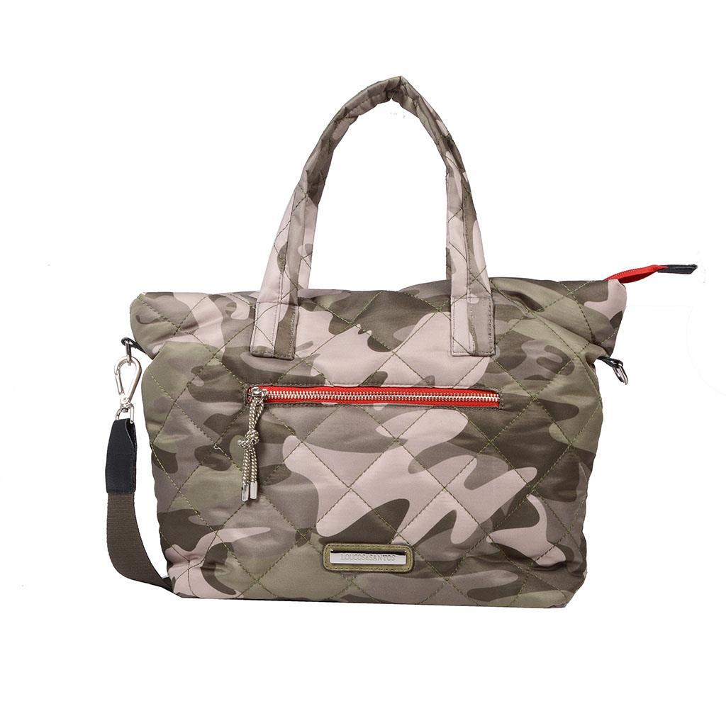 Bolsa sacola camuflada I19