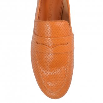 Loafer Couro Snake Curry I21 3