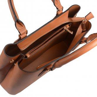 Bolsa Estruturada Caramelo com Alça de Ombro V20 5