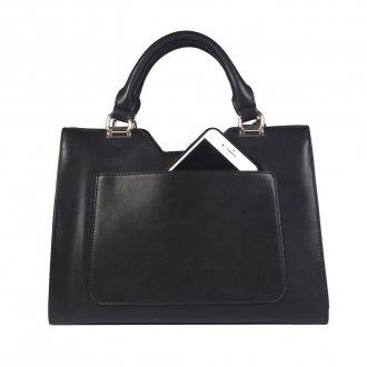 Bolsa Preta com Bag Charm  4
