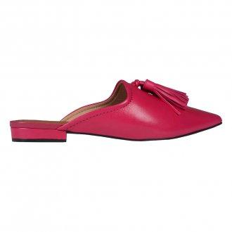 Mule Couro Pink com Barbicacho I20 2