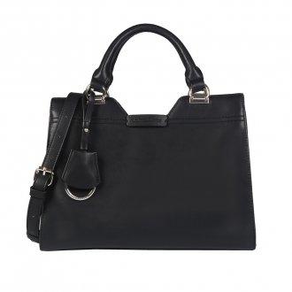 Bolsa Preta com Bag Charm