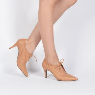 Ankle Boot Couro Natural I20 5