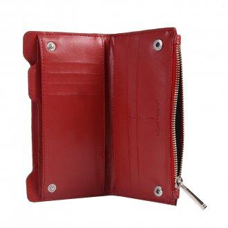 Carteira com Porta-Cartão Vermelho V20  2