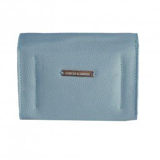 Carteira Pequena Light Blue com Porta-Cartão V20 2