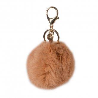 Imagem - Bag Charm Pompom Bege I20