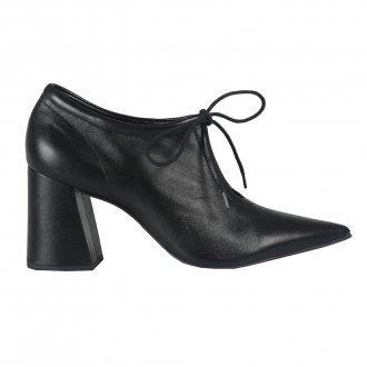 Ankle Boot Couro Preto I21 3