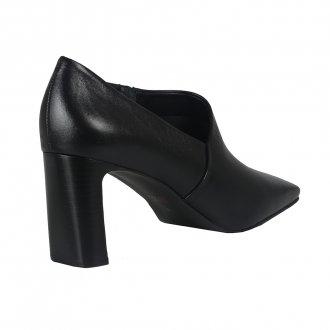 Ankle Boot Preta Com Recorte I21 4