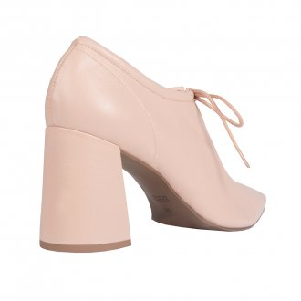 Ankle Boot Couro Nude I21  3