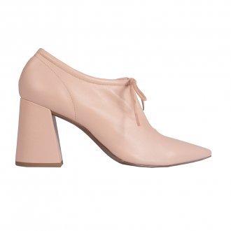 Ankle Boot Couro Nude I21  2
