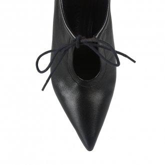 Ankle Boot Couro Preto I21 5