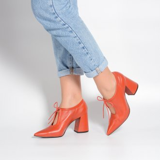 Ankle Boot Couro Rust I21 2