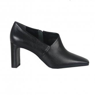 Ankle Boot Preta Com Recorte I21 3