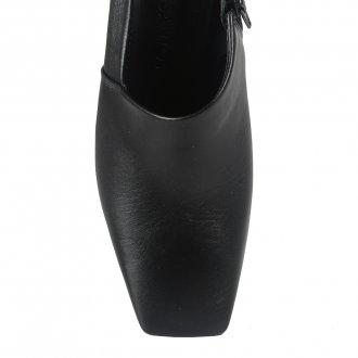 Ankle Boot Preta Com Recorte I21 5