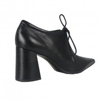 Ankle Boot Couro Preto I21 4