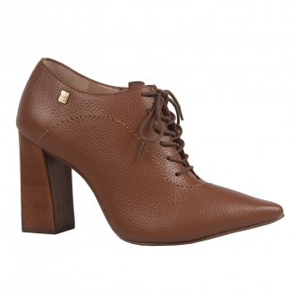 Ankle boot conhaque