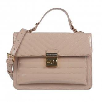 Imagem - Bolsa estruturada verniz blush