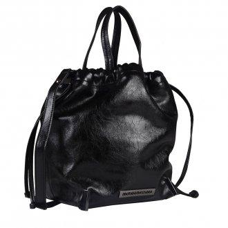 Bolsa Saco Preta com Alça de Mão 2