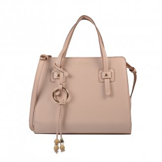 Imagem - Bolsa Estruturada Blush com Bag Charm V20