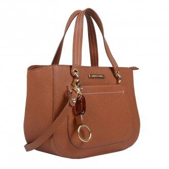 Bolsa Estruturada Âmbar com Bag Charm V20 2