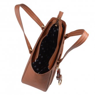 Bolsa Estruturada Âmbar com Bag Charm V20 3