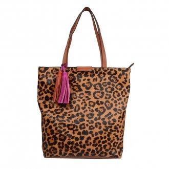 Imagem - Bolsa Shopping Pelo Animal Print I21