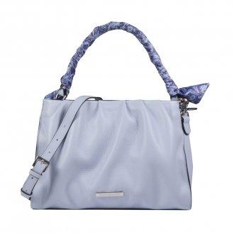 Imagem - Bolsa Macia Cotton Blue com Lenço Removível V22