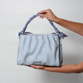 Bolsa Macia Cotton Blue com Lenço Removível V22 2