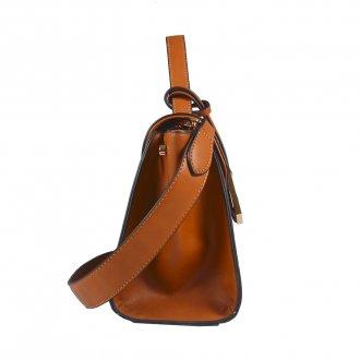 Bolsa Estruturada Caramelo com Alça de Ombro V20 2