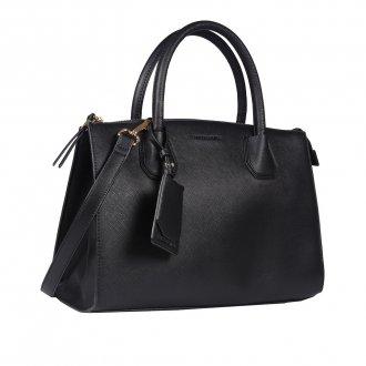 Bolsa Preta com Bag Charm V20 2