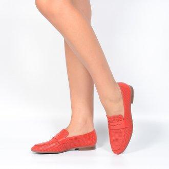 Loafer Couro Vazado Red I21 2