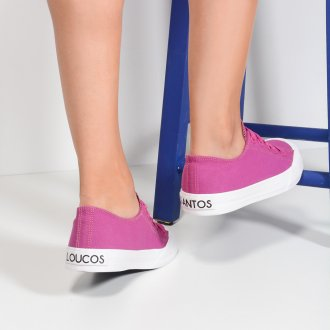 Tênis Pop Sneaker Fucsia I21 5