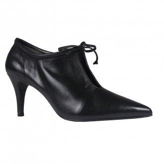 Imagem - Ankle Boot Couro Preta I20
