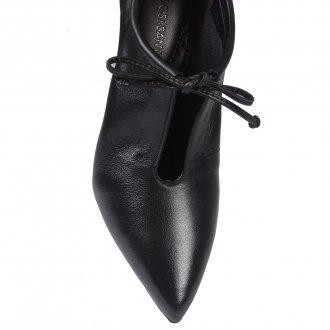 Ankle Boot Couro Preta I20 2