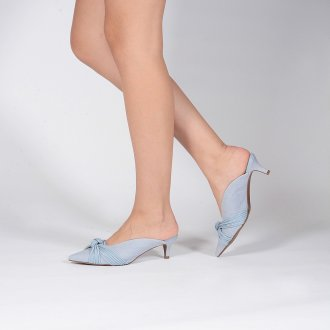 Mule Couro Denim Light Blue V20 3
