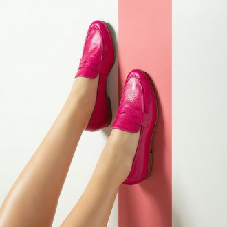 Loafer Couro Pink I20 5