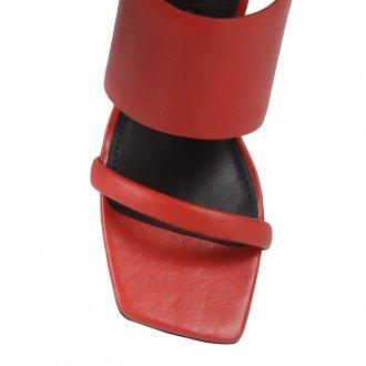 Sandália Red com Salto Taça e Bico Quadrado I21 3