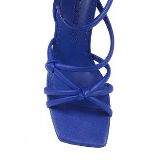 Sandália Tiras Azul Royal I21 3
