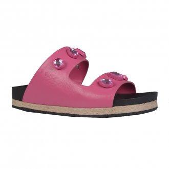 Imagem - Anatomic Sandal em Couro Rosa Chiclete V22