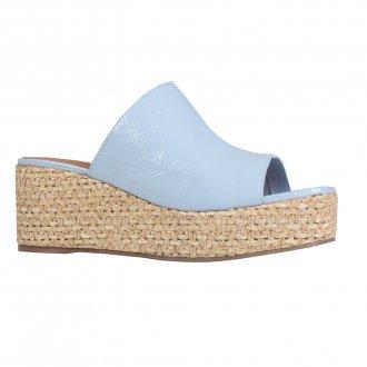 Imagem - Tamanco Plataforma Couro Verniz Show Cotton Blue V22