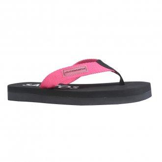 Imagem - Thong Flatform com Tiras em Gorgorão Rosa Chiclete V22