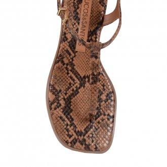 Rasteira Snake Print I20 4