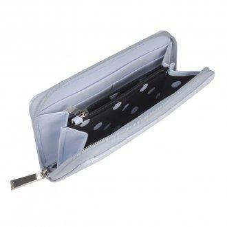 Carteira Matelassê Light Blue V21 3