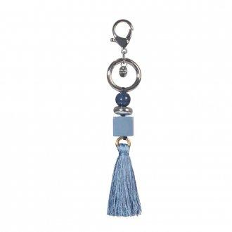 Imagem - Bag Charm Azul com Barbicacho V21