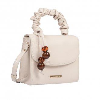 Clutch Tiracolo Off White com Bag Charm V21 3